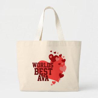 Bäst Ava för världar personlig Jumbo Tygkasse