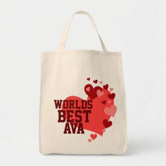 Bäst Ava för världar personlig Mat Tygkasse