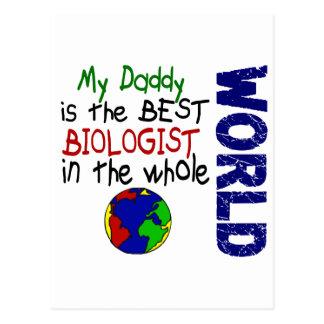 Bäst biolog i värld 2 (pappan) vykort