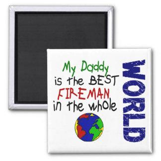 Bäst brandman i värld 2 (pappan) magnet