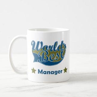 Bäst chef för värld vit mugg