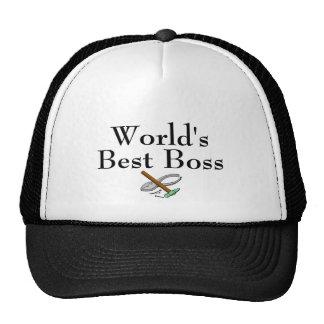Bäst chef för världar keps