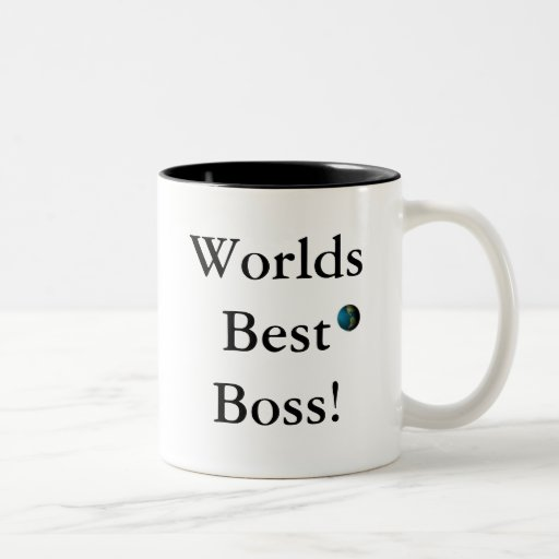 Bäst chef för världar! muggar