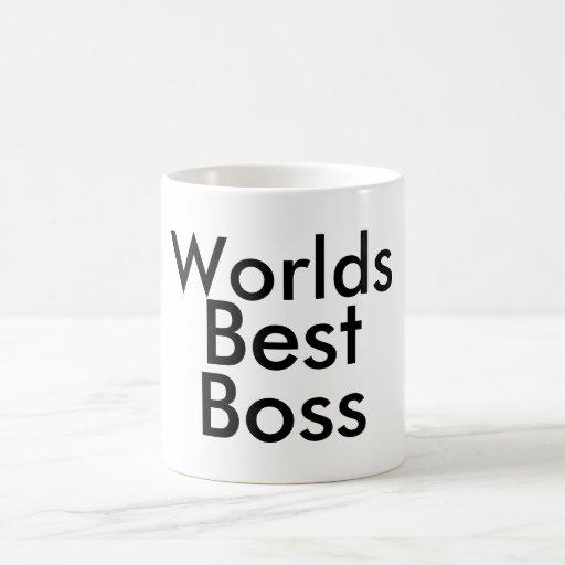 Bäst chef för världar kaffe koppar