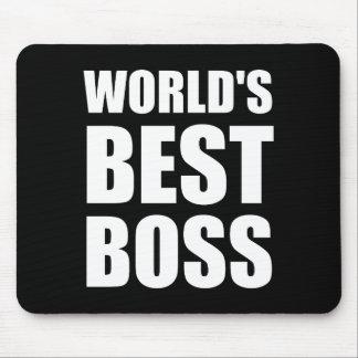 Bäst chef för världar mus mattor