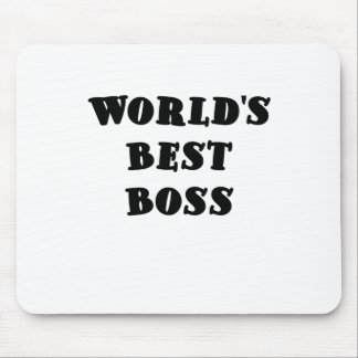 Bäst chef för världar musmattor