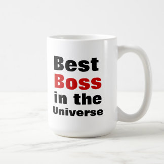 Bäst chef i universum mugg