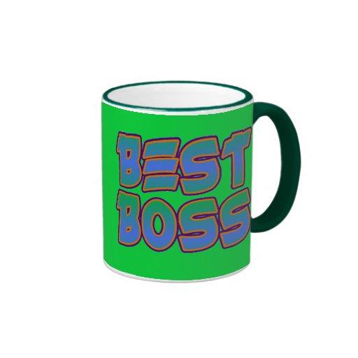 Bäst chef kaffe mugg