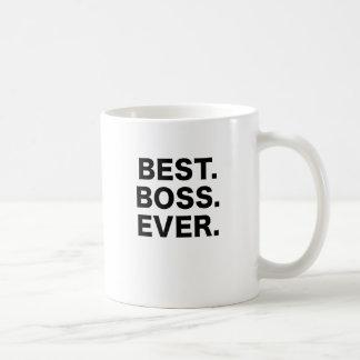 Bäst chef någonsin kaffemugg