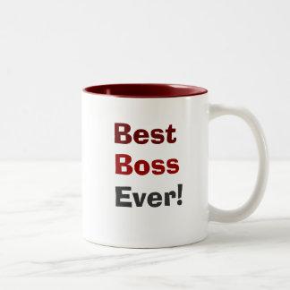 Bäst chef någonsin! kaffe mugg