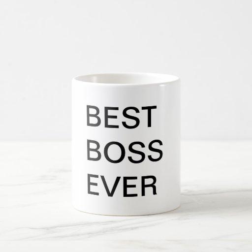 Bäst chef någonsin kaffe muggar