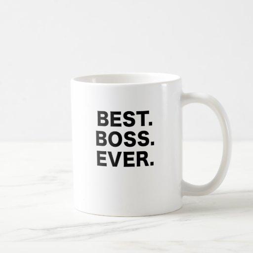 Bäst chef någonsin kaffe kopp