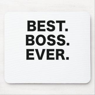Bäst chef någonsin musmattor
