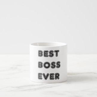 Bäst chef någonsin espressomugg