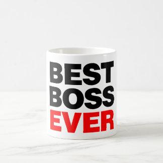 Bäst chef någonsin vit mugg