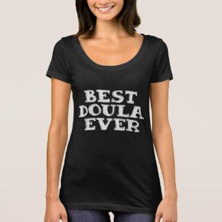 Bäst doula någonsin - tshirten tackar dig gåvan tee shirt