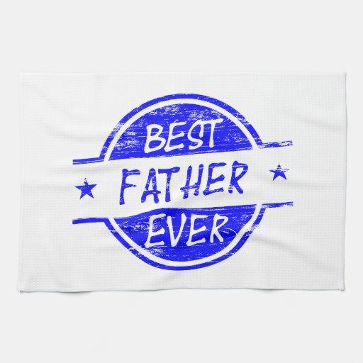 Bäst far någonsin Blue.png Handukar