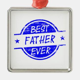 Bäst far någonsin Blue.png Juldekoration