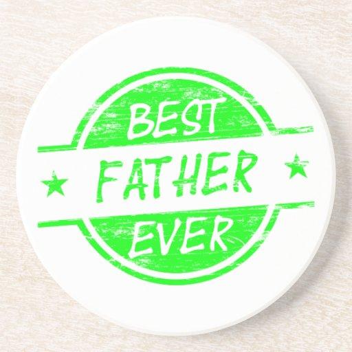 Bäst far någonsin Green.png Glasunderlägg
