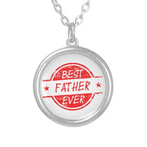 Bäst far någonsin Red.png Skräddarsydda Halsband