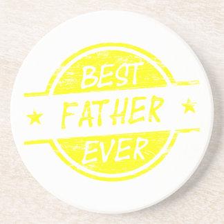 Bäst far någonsin Yellow.png Dryck Underlägg
