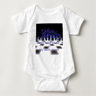 Bäst flyttningblått för stads- royalty t shirt