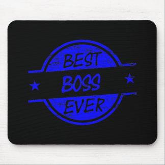 Bäst för chef blått någonsin mus matta