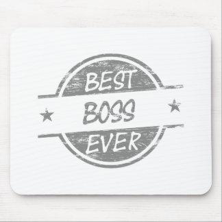 Bäst för chef grått någonsin musmattor