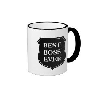 Bäst för chef kaffemugg någonsin med ringer mugg