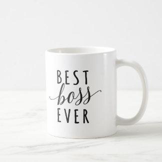 Bäst för chef kaffemugg någonsin vit mugg