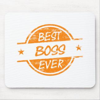 Bäst för chef orange någonsin mus matta