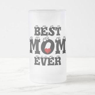 Bäst för hjärtakärlek för mamma någonsin röd mugg