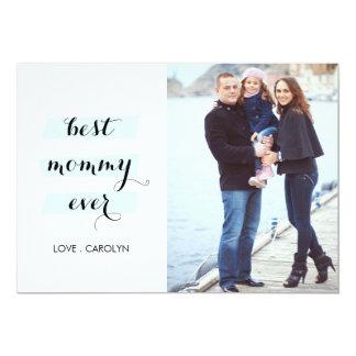 Bäst för mammor mors dagkort någonsin 12,7 x 17,8 cm inbjudningskort