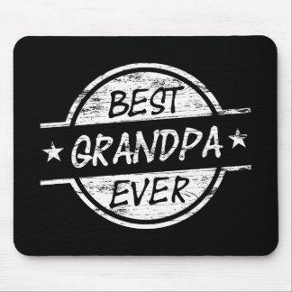 Bäst för morfar vit någonsin musmatta