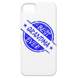 Bäst för mormor blått någonsin iPhone 5 Case-Mate skal