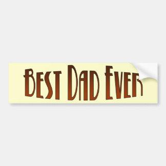 Bäst för pappa bildekal någonsin