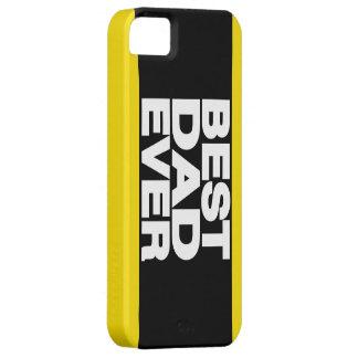 Bäst för pappa Lg-gult någonsin iPhone 5 Case-Mate Fodraler