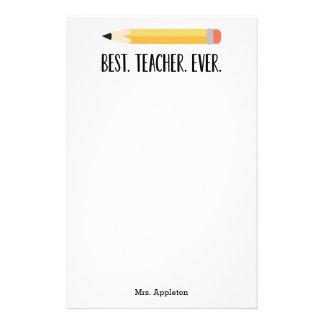Bäst för personligbrevpapper för lärare någonsin | brevpapper