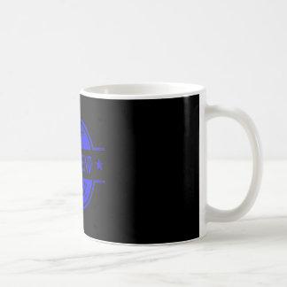 Bäst för pojkvän blått någonsin kaffemugg