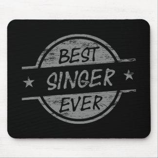 Bäst för sångare grått någonsin musmattor