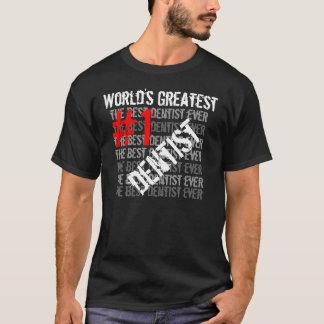 Bäst för tandläkare tandläkare för världsmästare t-shirt