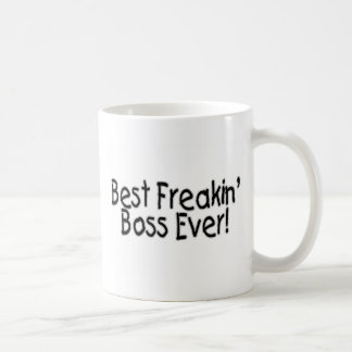 Bäst Freakin chef någonsin Kaffe Kopp