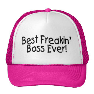 Bäst Freakin chef någonsin Keps