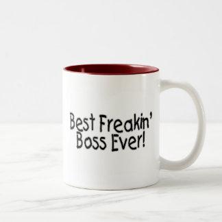 Bäst Freakin chef någonsin Kaffe Koppar