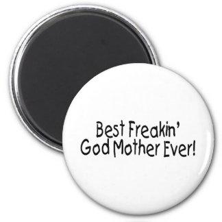 Bäst Freakin gudmor någonsin 2 Magnet För Kylskåp