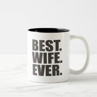 Bäst. Fru. Ever. Kaffe Mugg