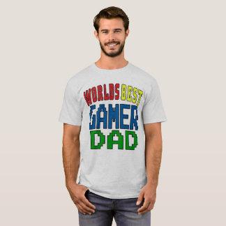Bäst Gamerpappa för världar T Shirts