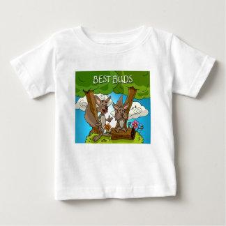 Bäst knoppspädbarnskjorta tee shirt