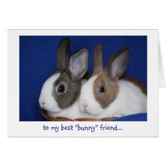 """bäst kort """"för kanin"""" vänpåsk"""