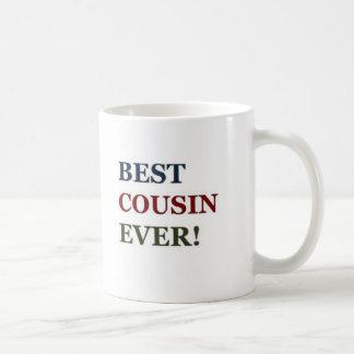 Bäst kusin någonsin kaffemugg